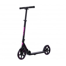Самокат PLANK MAGIC 200 черно-фиолетовый