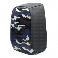 Рюкзак антивор XD-Design BOBBY Bag Compact морская волна
