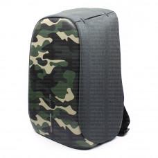 Рюкзак антивор XD-Design BOBBY Bag Compact Print хаки