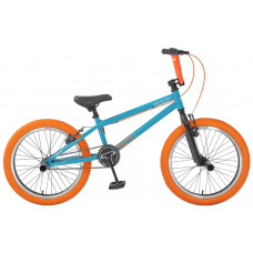 ВЕЛОСИПЕД BMX TT GOOF бирюзово-оранжевый